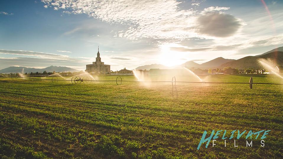 Payson Farm Web Payson Utah Temple Aerial Photographyuncategorized